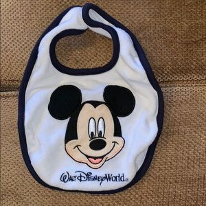 Amazing shape Mickey Mouse bib!!